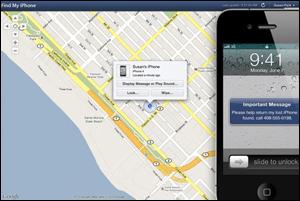 logiciel pour localiser une personne avec son iPhone